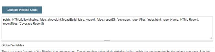 Publishing HTML Reports in Jenkins Pipeline – DevOps = IS NOT ALL