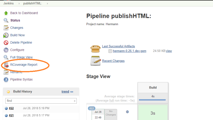 Publishing HTML Reports in Jenkins Pipeline – DevOps = IS